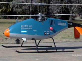 RUAS-160A - Helicóptero no tripulado (Cicaré, INVAP y Marinelli)