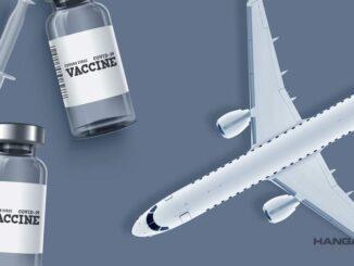 Transporte de vacunas contra el COVID-19 en aviones comerciales