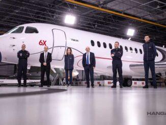 Dassault Aviation presentó su nuevo Falcon 6X
