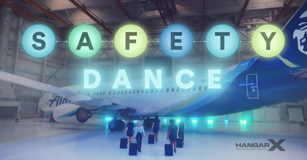 Safety Dance - Nuevo video de seguridad de Alaska Airlines