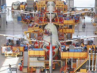 Línea de producción del Airbus A320