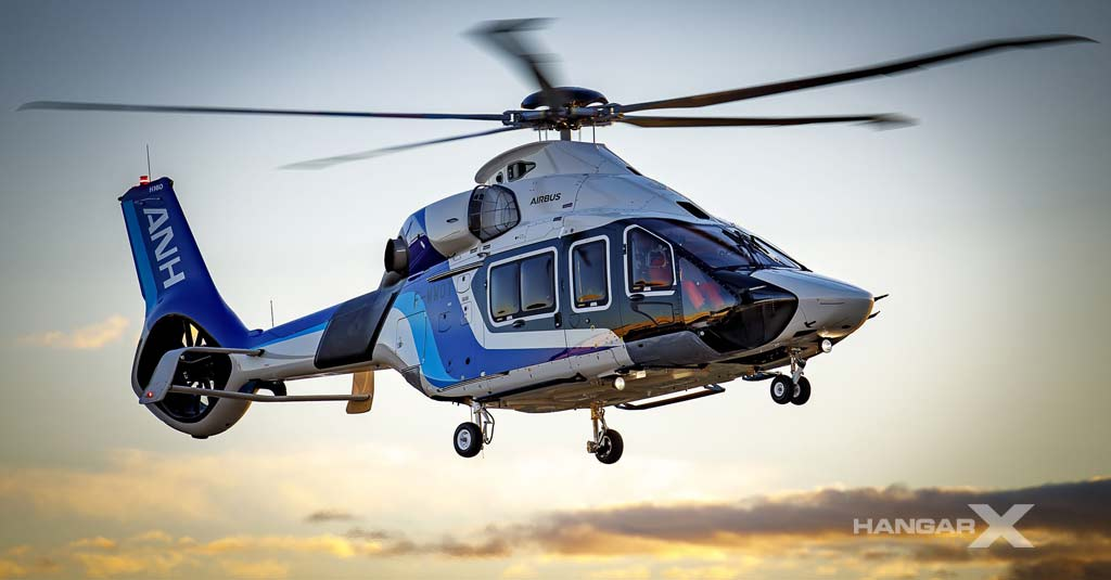 Airbus H160 - All Nippon Helicopter
