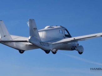 Automóvil volador fue certificado por la FAA