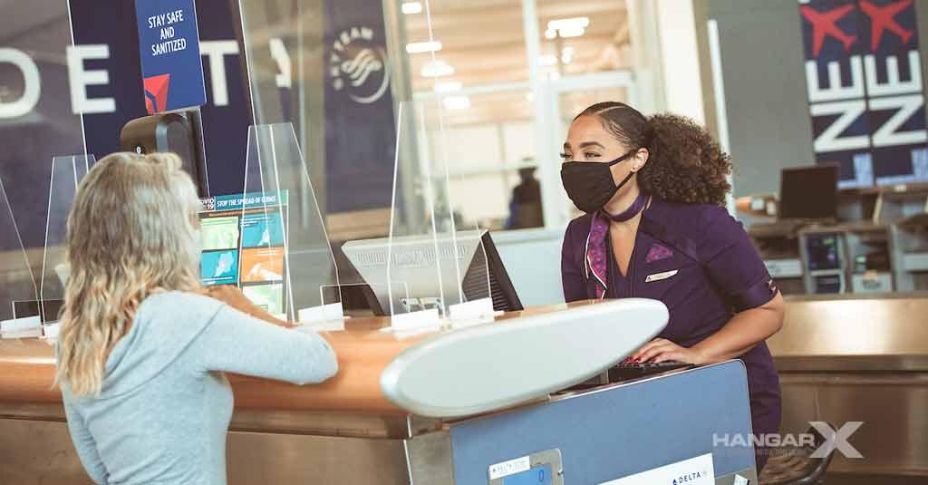 Delta pedirá test negativo de COVID-19 previo al embarque de sus vuelos hacia Estados Unidos