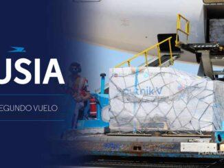 Aerolíneas Argentinas - Coronavirus: Transporte Vacuna Sputnik V desde Moscú