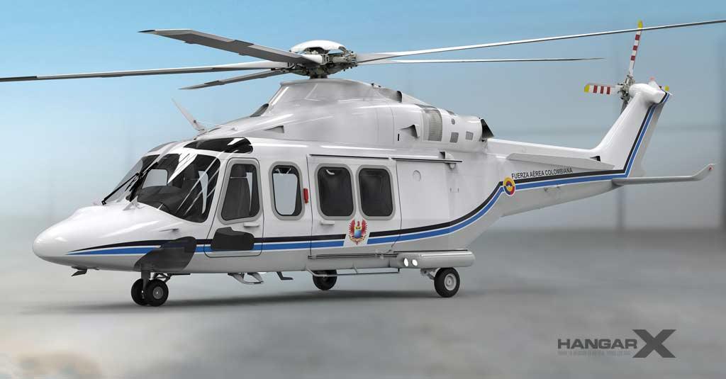 El nuevo helicóptero presidencial de Colombia será un Leonardo AW139