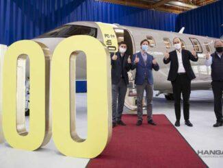 Pilatus Aircraft entregó la unidad N°100 del PC-24 a Jetfly