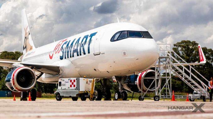 JetSMART Argentina inició sus vuelos a El Calafate
