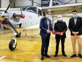 Daher entregó el primer Kodiak 100 para un cliente en Francia