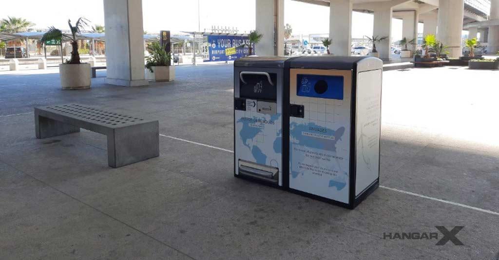 Aeropuerto de Málaga inicia un proyecto piloto en la gestión de residuos