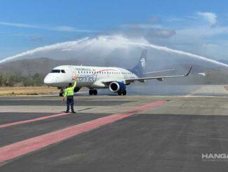 Aeroméxico inició sus vuelos a Puerto Escondido