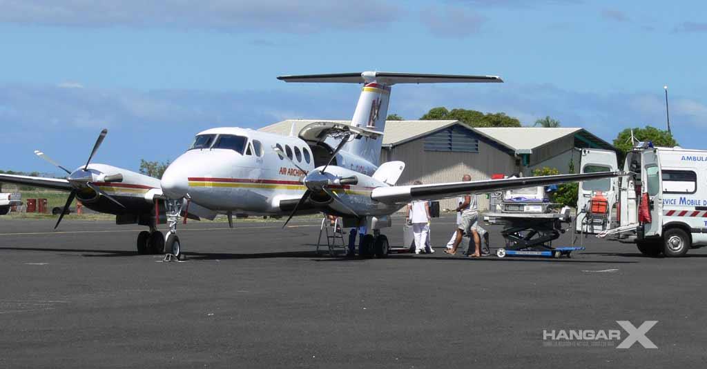 Air Archipels recibirá el primer King Air 260C para vuelos sanitarios