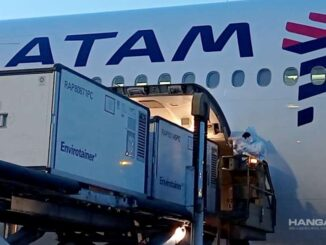 LATAM transportó insumos para fabricar 8.6 millones de dosis de CoronaVac en Brasil