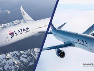 Acuerdo de alianza comercial enrtre LATAM y Delta