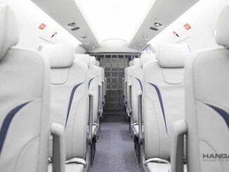 Primer Pilatus PC-24 con interior para 10 pasajeros