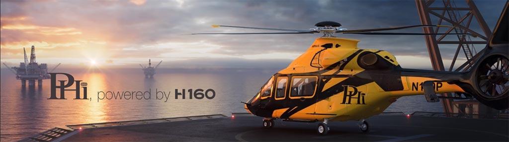 Shell selecciona el Airbus H160 para operaciones Offshore en el Golfo de México