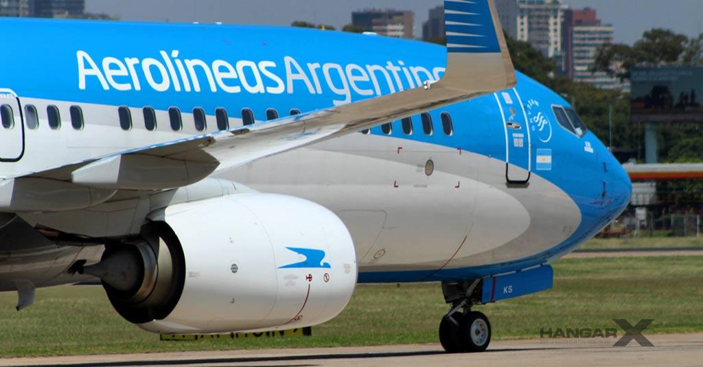 """Boeing 737-800 - Aerolíneas Argentinas / Aeroparque """"Jorge Newbery"""""""