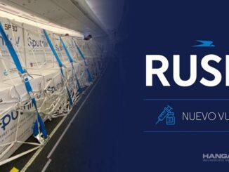 Aerolíneas Argentinas realizará el séptimo vuelo a Rusia para traer vacunas Sputnik V
