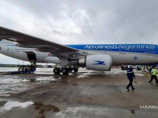 Aerolíneas Argentinas - Vuelos de carga a Moscú (Vacunas Sputnik V)