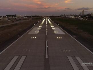 Aeroparque (SABE) - Nueva pista
