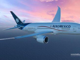 Aeroméxico voló a Rusia por primera vez en su historia