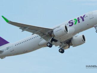 SKY Airline es reconocida por tener la flota más moderna de Sudamérica