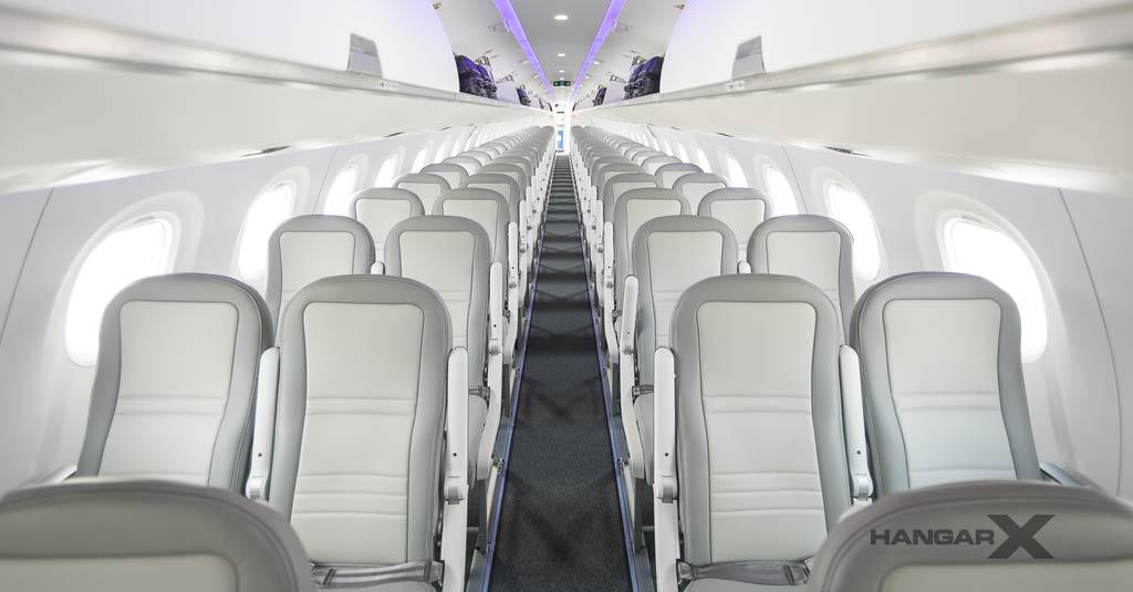 Embraer publica una guía técnica para la desinfección de aviones comerciales