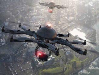 ENAIRE (España) - Aumento de las operaciones con drones en el espacio aéreo español