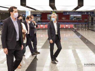 El gobierno controló operativo de testeo a pasajeros en el Aeropuerto de Ezeiza