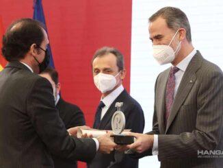 Iberia recibió la acreditación como Embajadora Honoraria de la Marca España