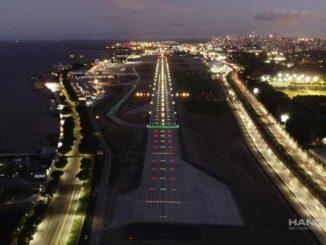 Inauguraron la nueva pista de Aeroparque