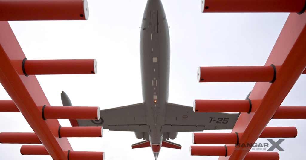 Nuevos Sistemas de Navegación Aérea en Aeroparque (vuelos de verificación ILS)