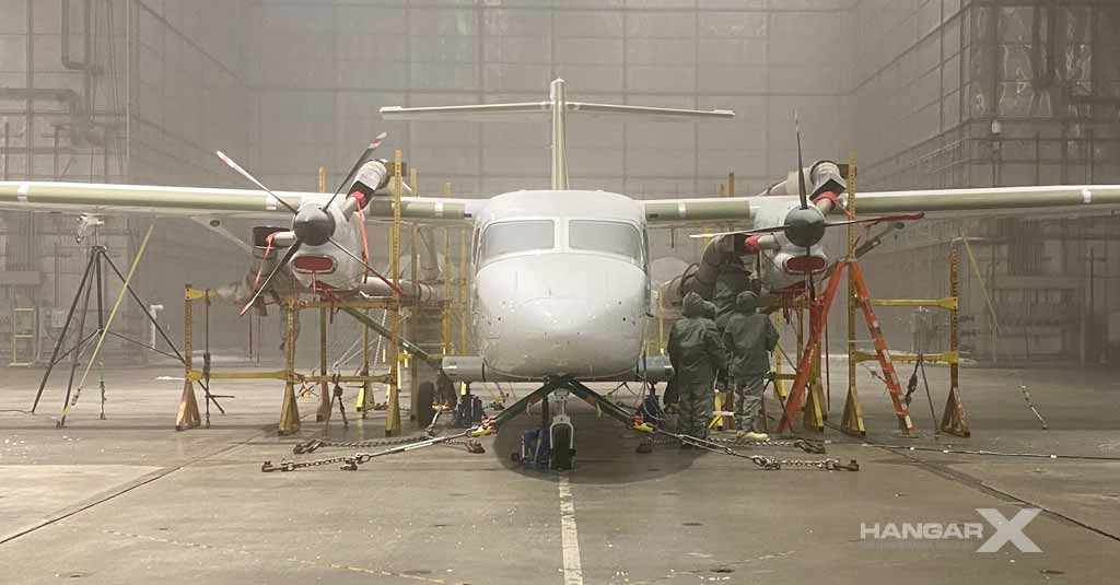 Cessna SkyCourier - Cold Testing