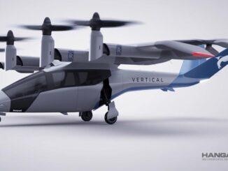 Vertical Aerospace VA-X4 Powered by Rolls Royce