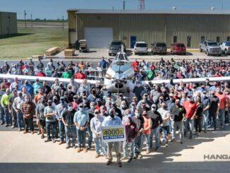 Air Tractor entregó la unidad número 4000