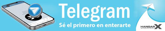 HANGAR X - Noticias de aviación, ahora también en Telegram
