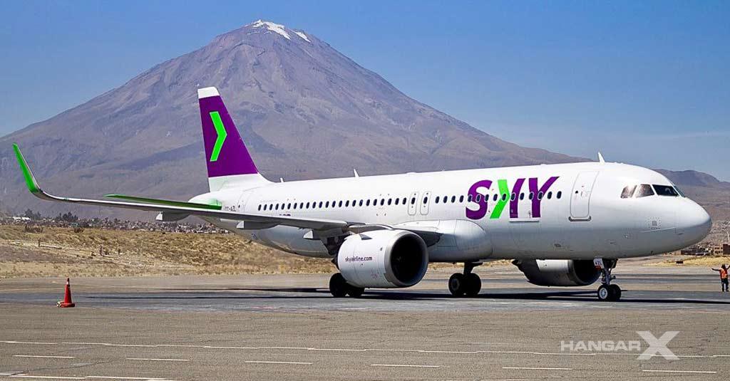 SKY Airline celebra su segundo aniversario de operaciones en Perú