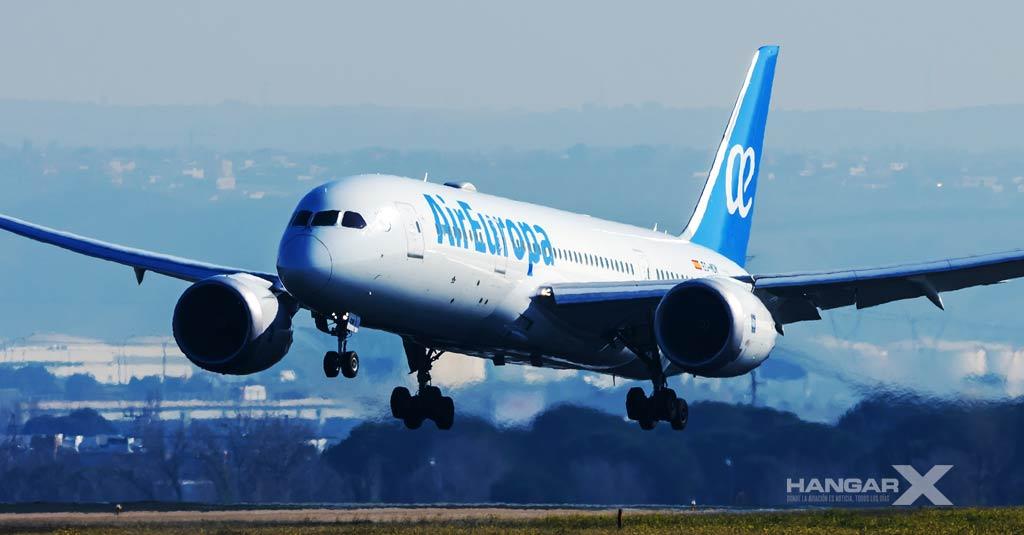 Air Europa integra la verificación digital sanitaria de sus pasajeros