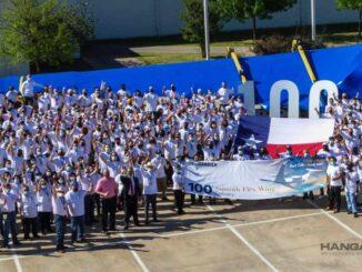 Bombardier finaliza la producción de la centésima ala del Global 7500