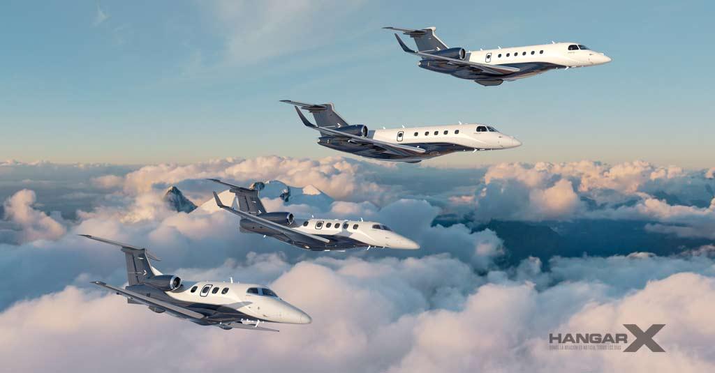 Embraer ayuda al desarrollo del transporte aéreo privado para las vacunas COVID-19