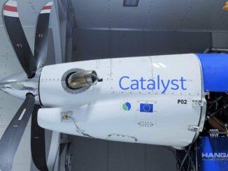 El motor «Catalyst» de General Electric, completó las pruebas en condiciones de formación de hielo
