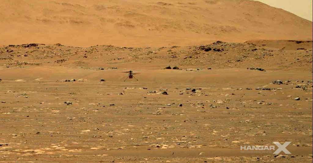 La NASA realizó el primer vuelo a motor controlado en Marte