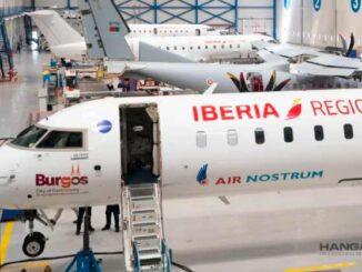 Air Nostrum reafirma su liderazgo en el mantenimiento de sus aviones