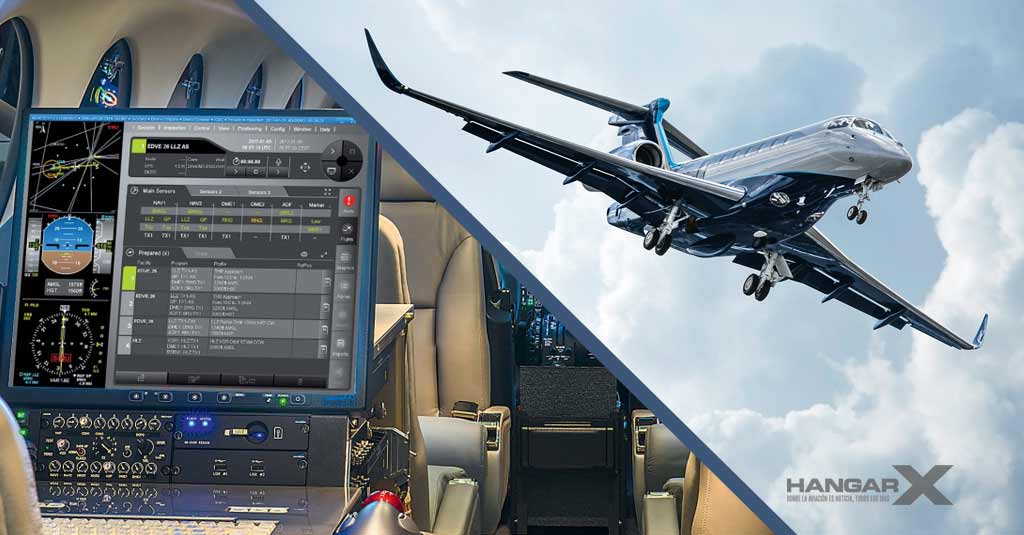 Convertirán un Embraer Praetor 600 en avión verificador para servicios de navegación aérea