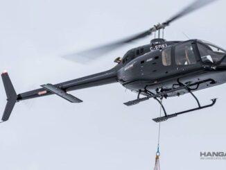 EASA certificó el gancho de carga para el helicóptero Bell 505