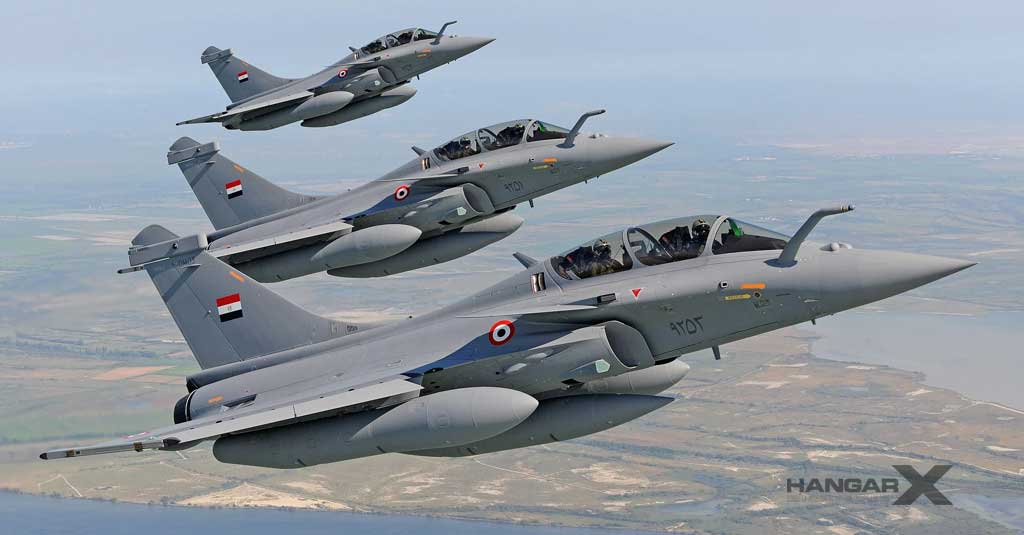 Egipto compra 30 aviones Dassault Rafale adicionales