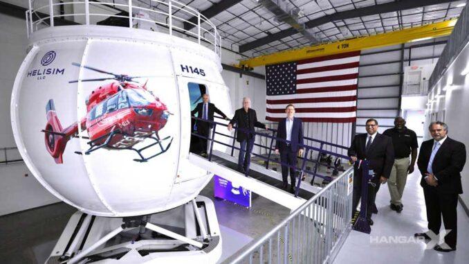 Helisim inauguró el primer Simulador de Vuelo de Airbus H145 en América