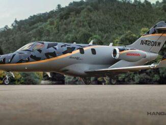 Honda Aircraft Company presentó el HondaJet Elite S