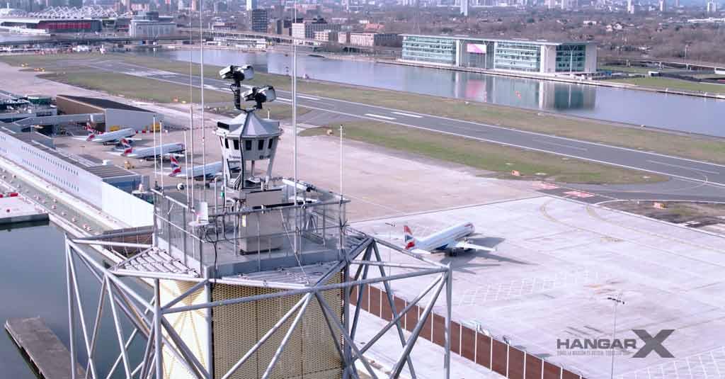 London City es el primer Aeropuerto Internacional con Torre de Control Digital Remota
