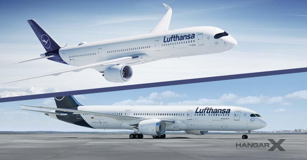 Lufthansa avanza en la modernización de su flota y compra diez aviones